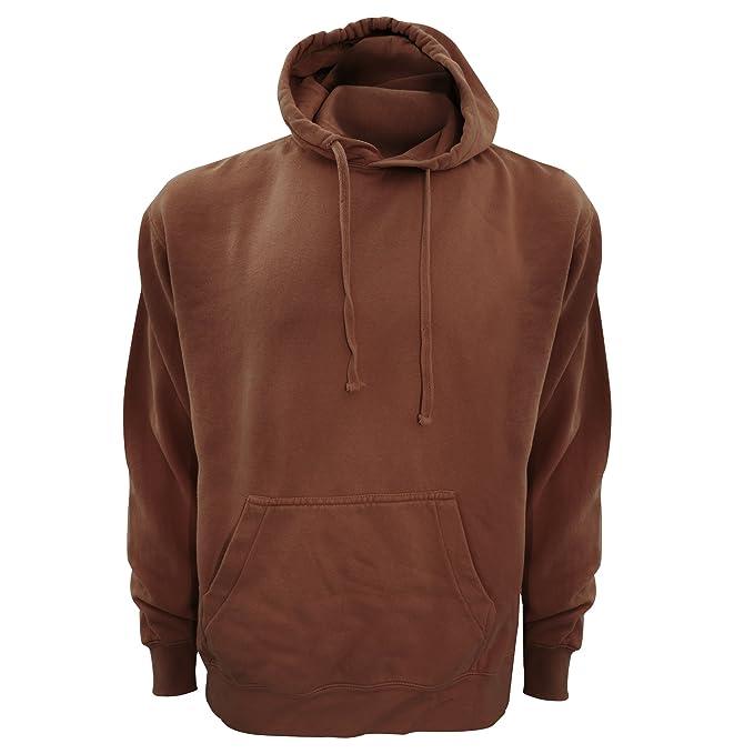 db92cc958 Comfort Colors Adults Unisex Hooded Sweatshirt/Hoodie (S) (Chocolate)