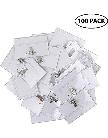 Amazon.es: Fundas de tarjetas de identificación: Oficina y ...