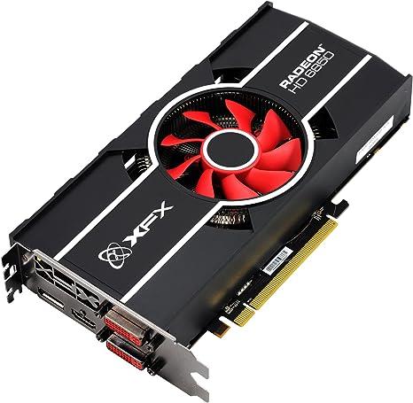 Amazon.com: XFX AMD Radeon HD 6850 775 M 1 Gb DDR5 – Tarjeta ...
