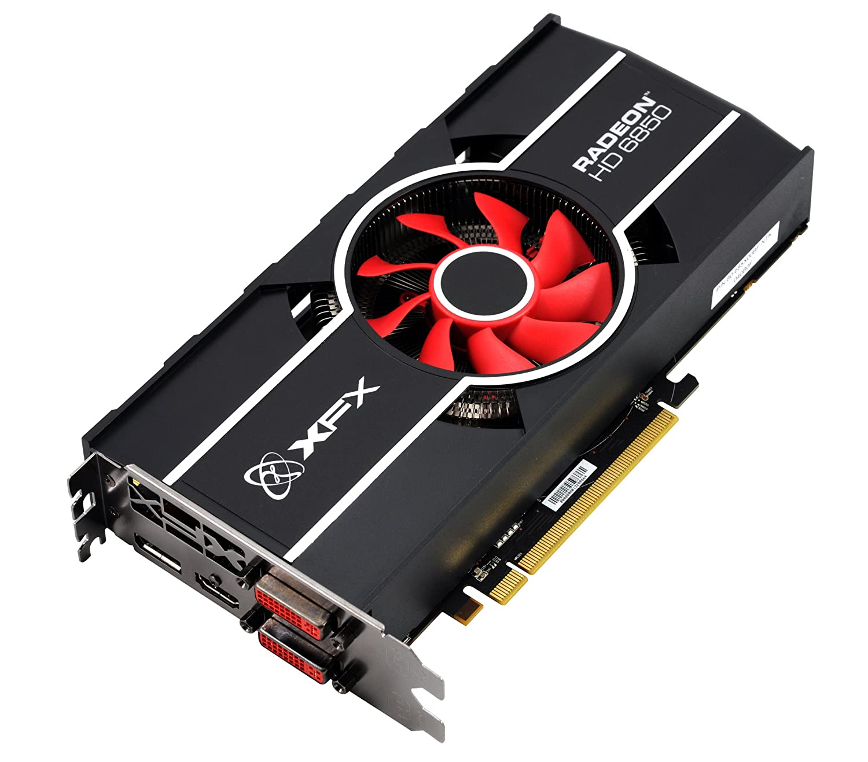 XFX Radeon HD 6850 Eyefinity 1GB 256-Bit DDR5 PCI-E DVIx2/HDMI/DP B0047ZH7FU