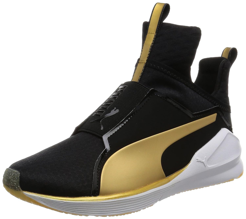Puma Fierce - Zapatillas Mujer 38 EU|Negro (Black/Gold)
