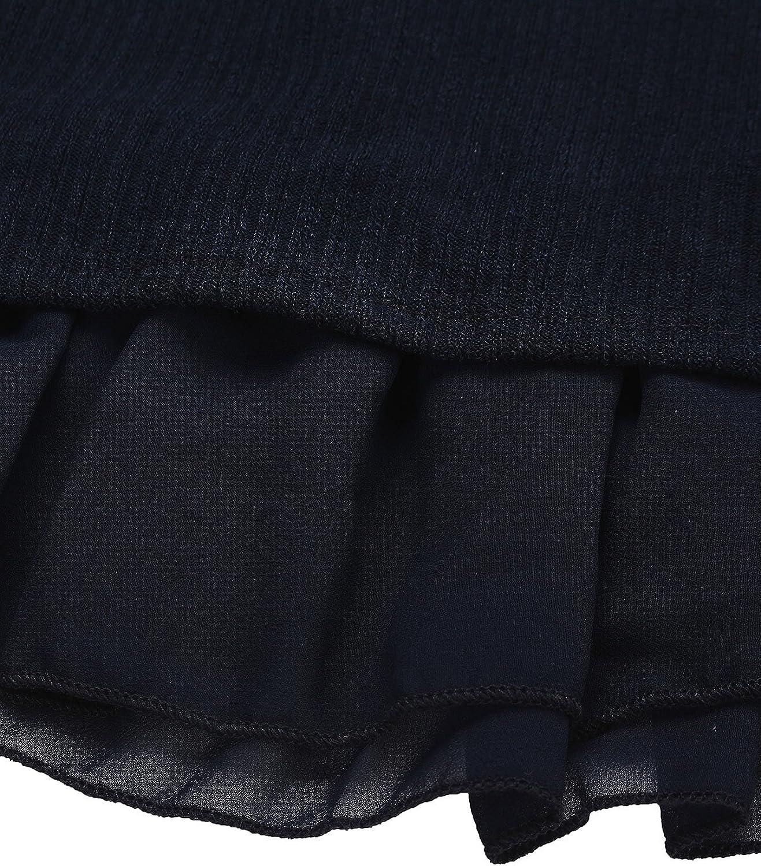 ZANZEA Jersey Mujer Jumper Su/éter Larga Tops Vestidos de Encaje para Vestido Lazo Elegant Fiesta de Noche Su/éter de Punto para Mujeres Oto/ño Invierno Tallas Grandes