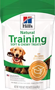 Hill's Dog Treats Chicken Training Treats, Healthy Dog Snacks, 3 oz Bag