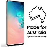 Samsung SM-G975FCWGXSA Galaxy S10+ 512GB Hybrid SIM Smartphone (Australian Version), Porcelain White