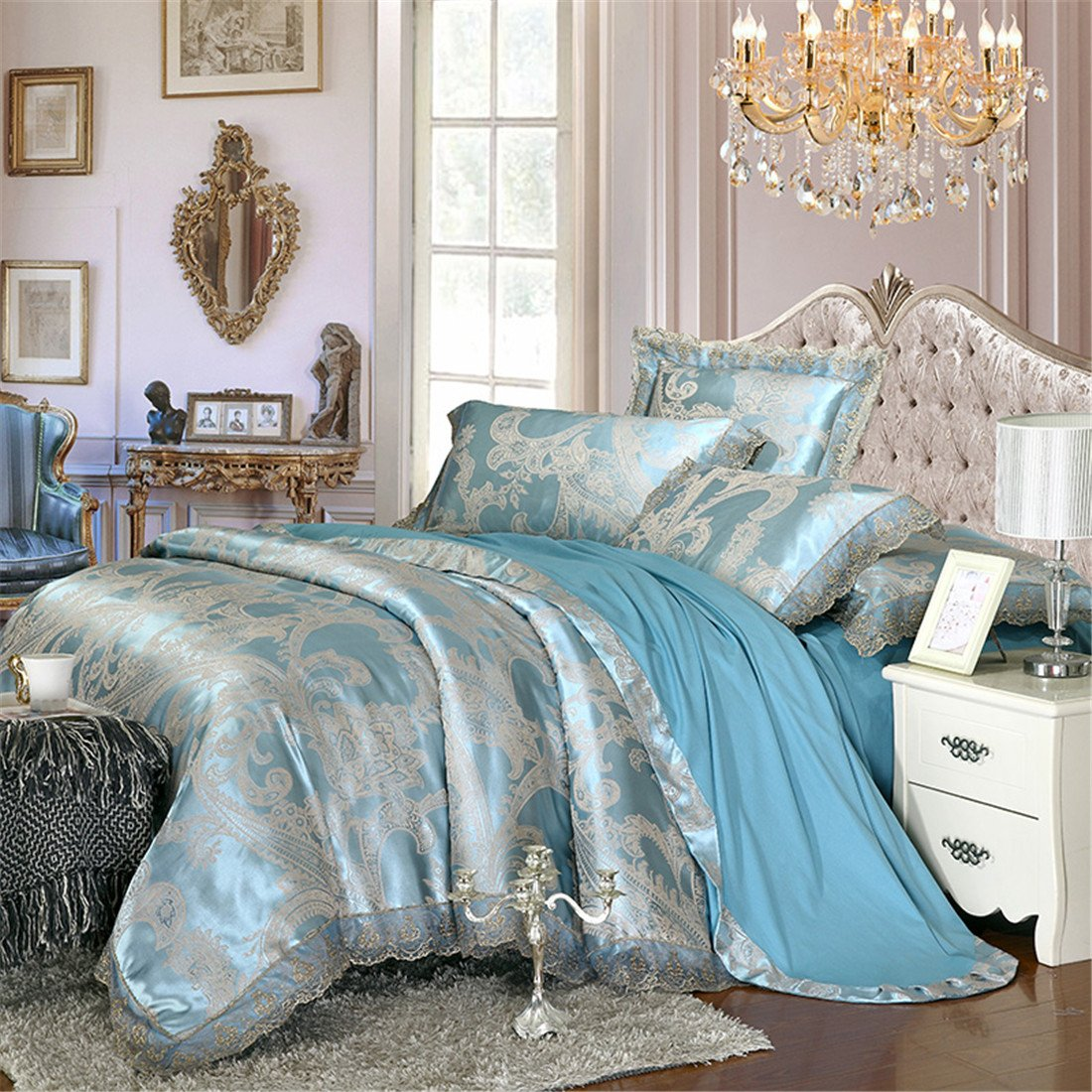 Lace Bedding Amazon Com