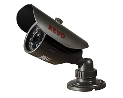 REVO America RCBS30-2A 660 TVL Indoor/Outdoor Bullet Surveillance Camera with 80-