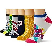 Stranger Things Women's Socks 6pc Pack Low Cut Assorted Designs 4-10
