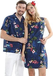 Vestito da Camicia da Marina per Bambina con Vestito da Marina di Hawaiian Luau Cruise