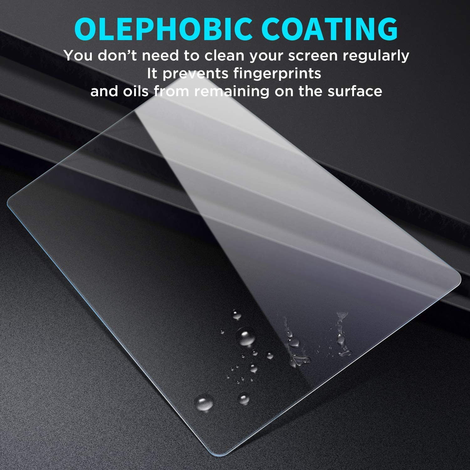 Screen Protector Compatible with 2018 2019 Toyota Camry 7'' Touch Screen, HD Clear Tempered Glass Car Navigation Screen Protective Film, Flyingchan,AXVH70 AXVH70N Compatible with LE SE NOT for 8IN by Flyingchan