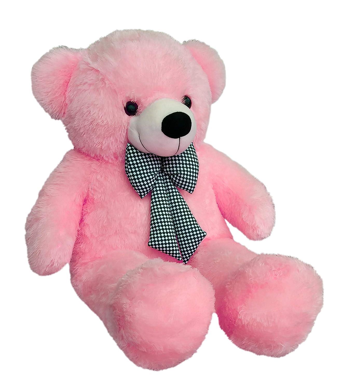 Webby 3 Feet Huggable Teddy Bear with Neck Bow