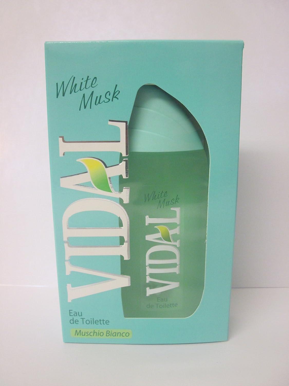 Vidal Bianco Muschio/Muschio Bianco Eau de Toilette 100 ml Conter