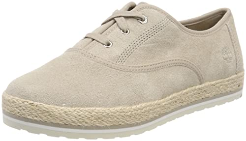 Timberland Kiri Up Leather, Zapatos de Cordones Oxford para Mujer, Marrón (Simply Taupe L47), 36 EU