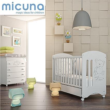 MICUNA - Pack Micuna Sweet Bear: Cuna (120 x 60 cm.) +