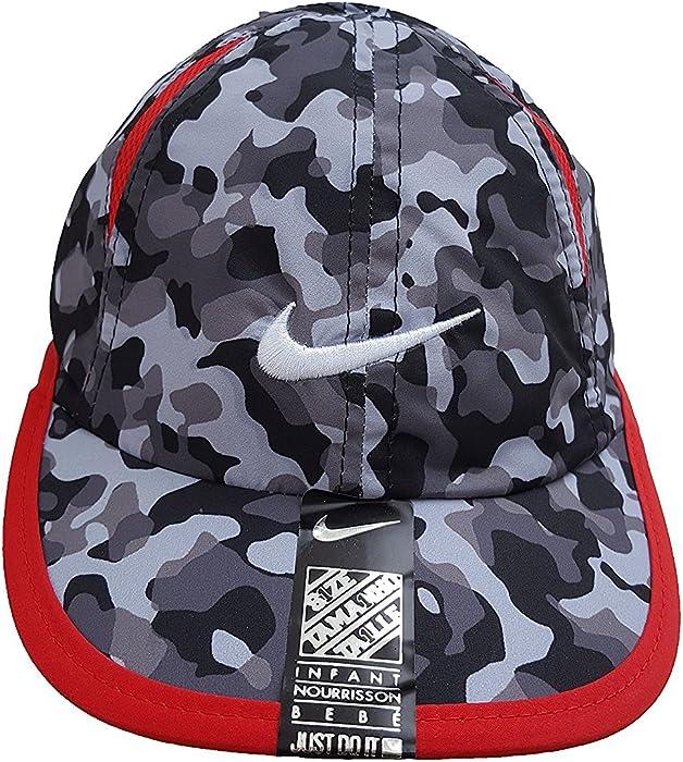 dd03d2ad94a Amazon.com  Nike Dri-Fit Swoosh Graphic Baseball Adjustable Cap (4 7 ...
