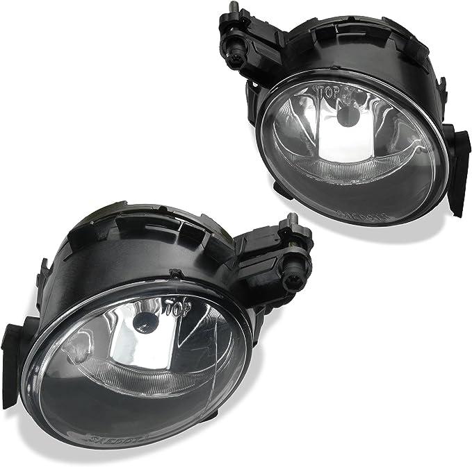 2x Nebelscheinwerfer Klarglas Chrom Birnen Hb4 Set Fahrzeugspezifisch Auto