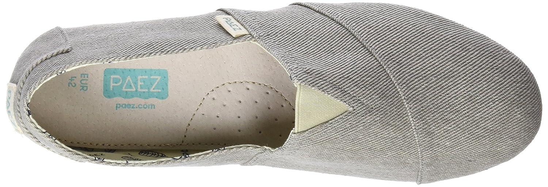 Paez Original-Essentials Grey, Alpargatas para Hombre: Amazon.es: Zapatos y complementos