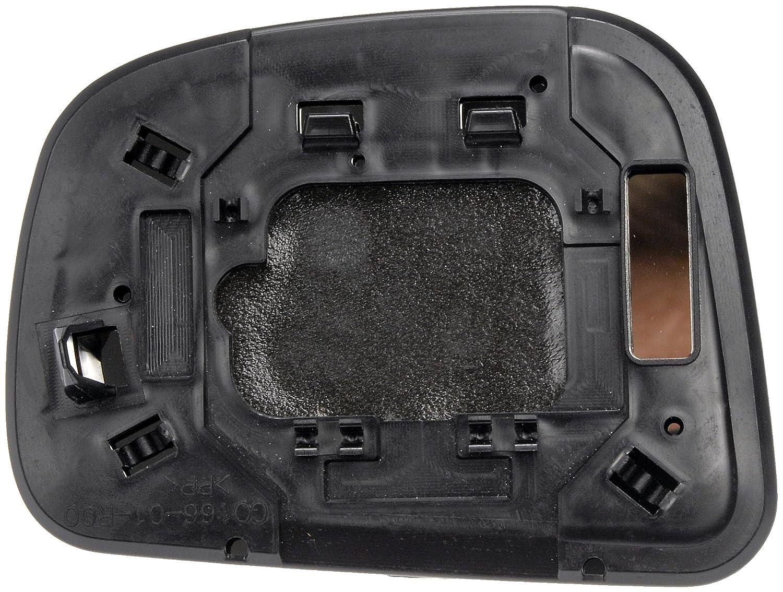 Dorman 56571 Nissan Versa Passenger Side Plastic Backed Door Mirror Glass