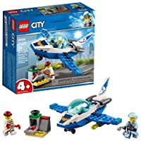 LEGO City Sky Police Jet Patrol 60206 Building Kit 54 Piece