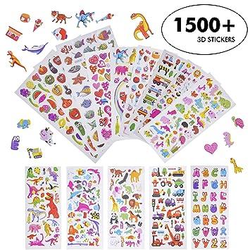 Pegatinas Niños,Pegatinas en Reliev 3D Puffy Stickers ...