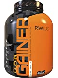 Rivalus Clean Gainer – Smooth Vanilla 5lb   - Delicious Lean Mass Gainer with Premium Dairy Proteins, Complex Carbohydrates, and Quality Lipids, No Banned Substances, Made in USA