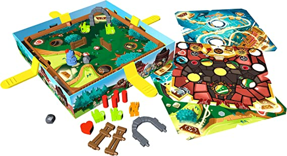 Blue Orange Slide Quest Juego de Guerra Niños y Adultos - Juego de Tablero (Juego de Guerra, Niños y Adultos, 15 min, 45 min, 7 año(s), 265 mm): Amazon.es: Juguetes y juegos