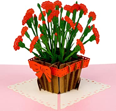 New Bunch Of Flowers. Valentine's Day Get Well Blank Card Suitable For B.day