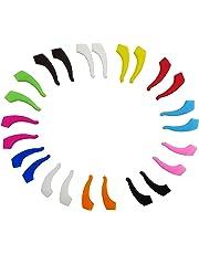 DODOGA Eyeglasses Anti Slip Holder Silicone Glasses Ear Hook Eyewear Retainer Replacement Kid Adult Sports Eyeglass Strap Holder Adjustable Ear Grip Hook Eyeglass Temple Tip,12 Pairs