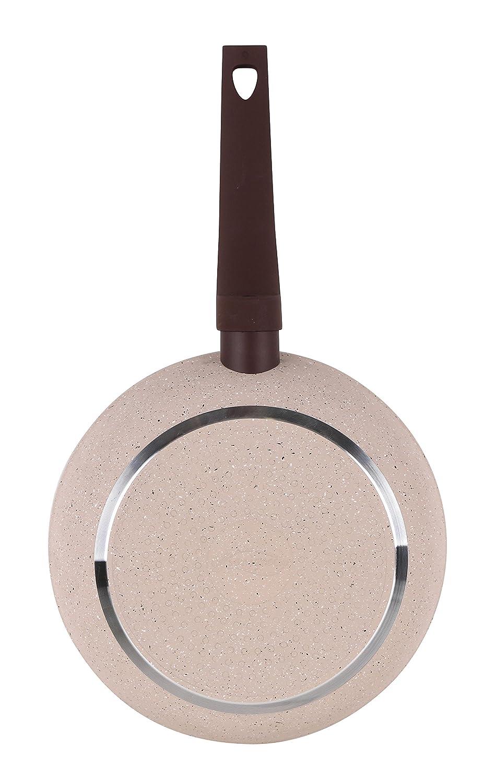 San Ignacio SARTEN 18cm Soft Touch Beige Veneto, Aluminio, Crema y marrón, 18 cm: Amazon.es: Hogar