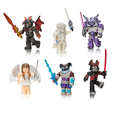 Roblox Action Collection - Summoner Tycoon Six Figure Pack [Includes Exclusive Virtual Item]: Toys & Games