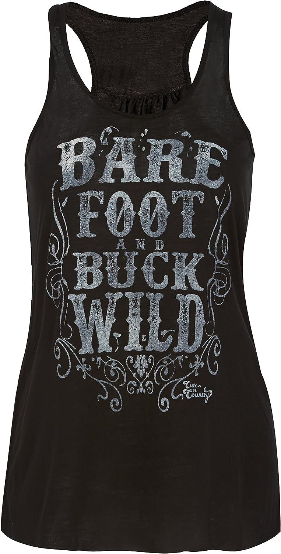 Barefoot and Buckwild Cute n Country Tank Top