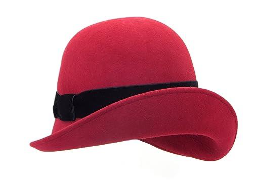 Cappoellas Sombrero cinta terciopelo