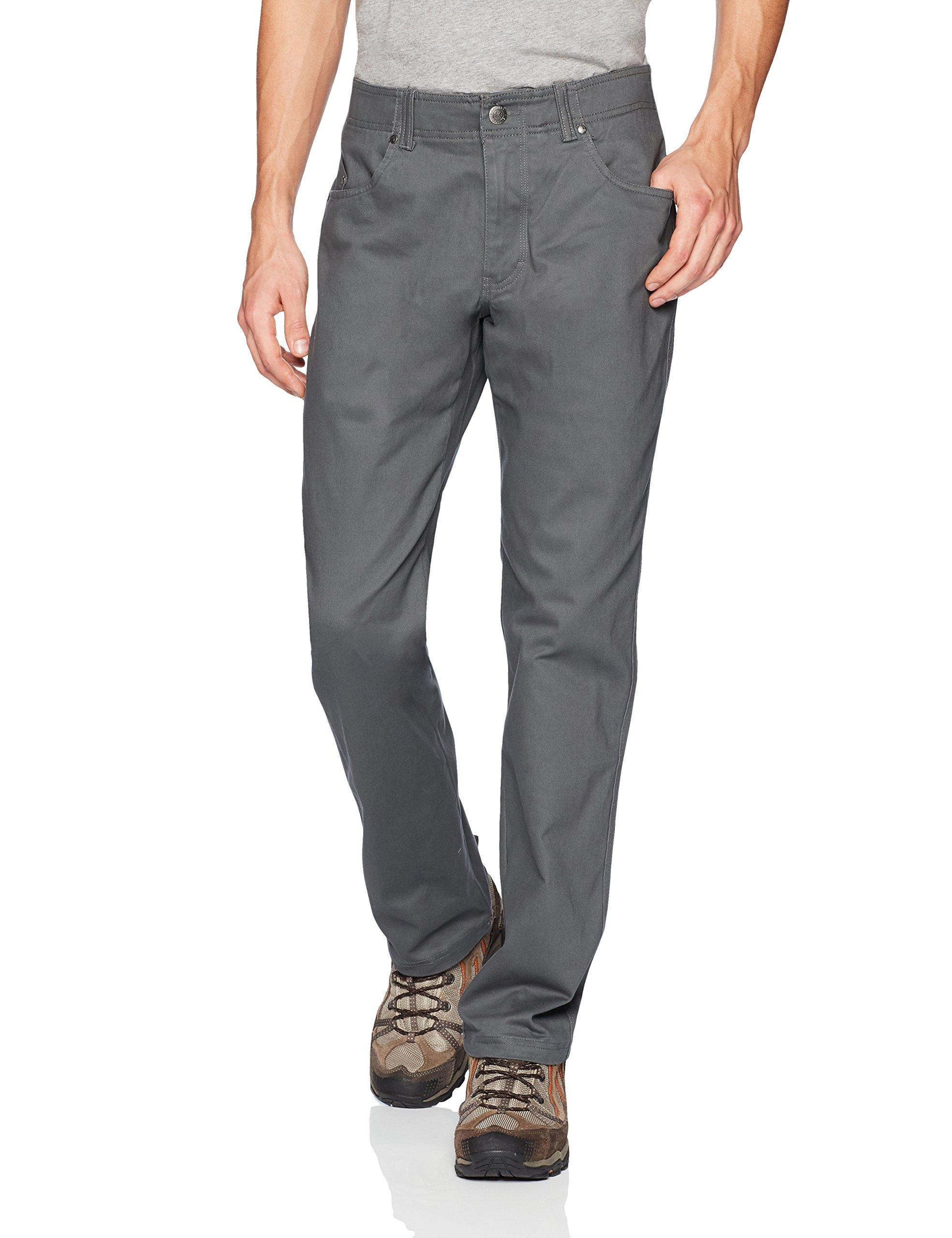 Columbia Men's Pilot Peak 5 Pocket Pant, Grill 44x34