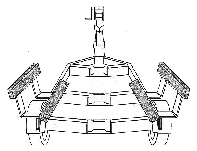 Dual Axle Boat Trailer Fenders