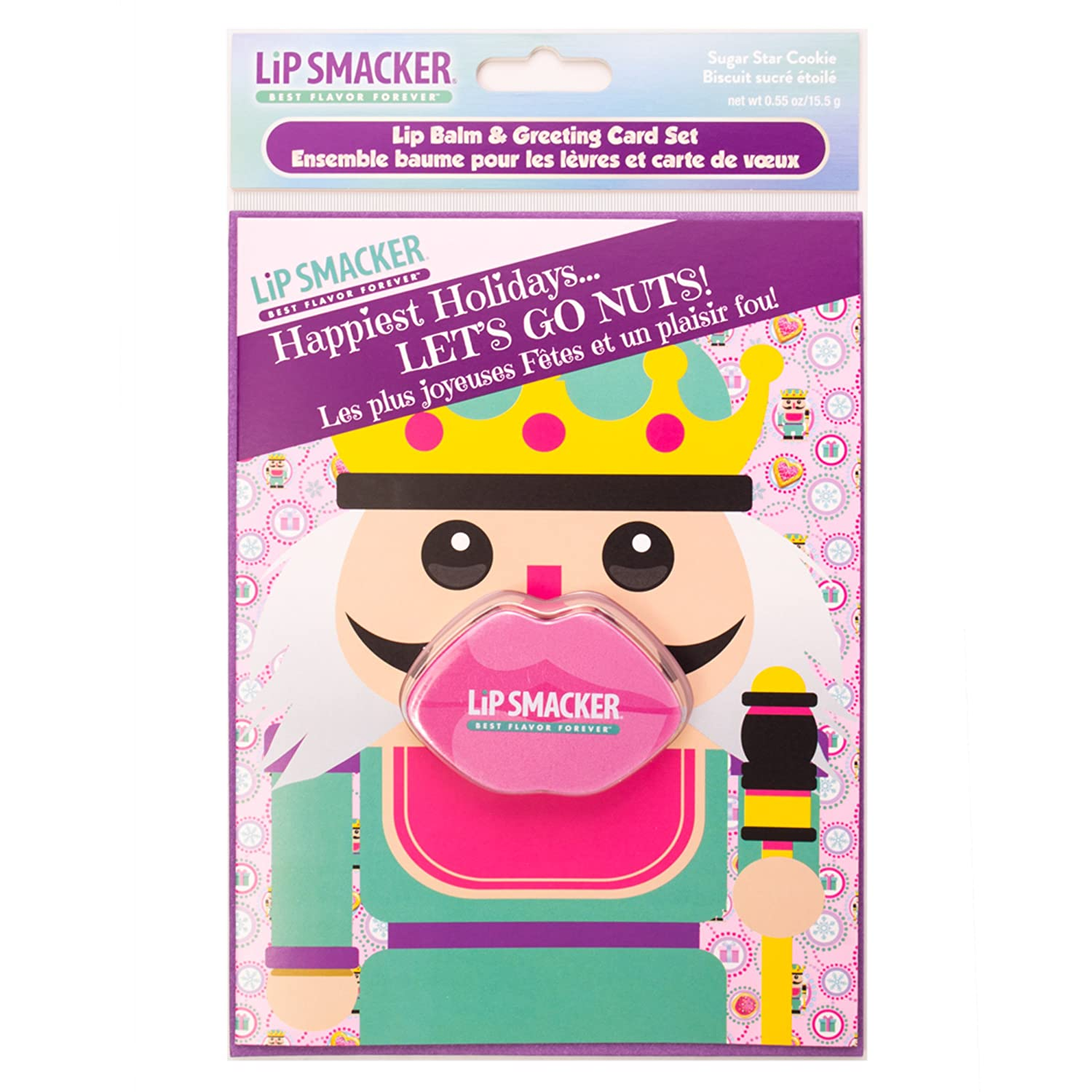 Amazon lip smacker holiday greeting card balm 4 count beauty kristyandbryce Images