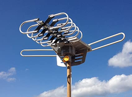 Review HDTV Outdoor Amplified Antenna