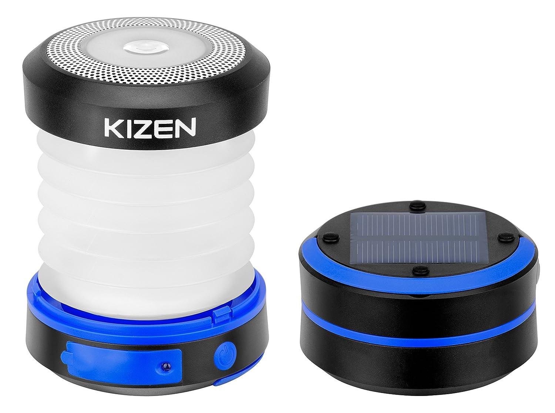 Solar table lamp: KIZEN Solar Powered Camping LED Lantern