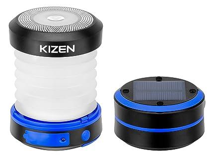 Fantastic Amazon Com Kizen Solar Powered Led Camping Lantern Solar Or Usb Wiring Cloud Pendufoxcilixyz