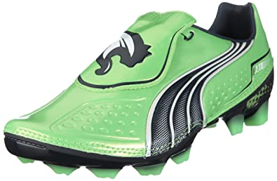 official photos 31fc3 e2697 PUMA V1.11 i FG Mens Soccer Boots Cleats-Green-7