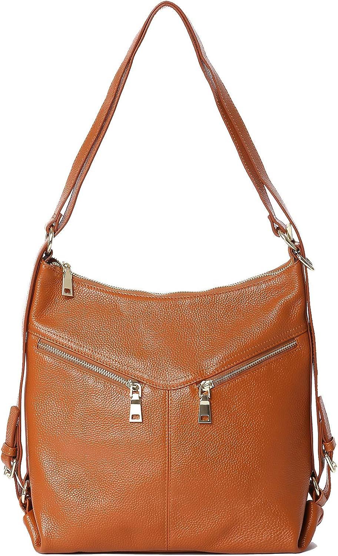 SEALINF Leather Handbag...