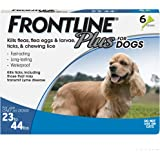 FRONTLINE Plus Flea and Tick Treatment for Dogs (Medium Dog, 23-44 Pounds)