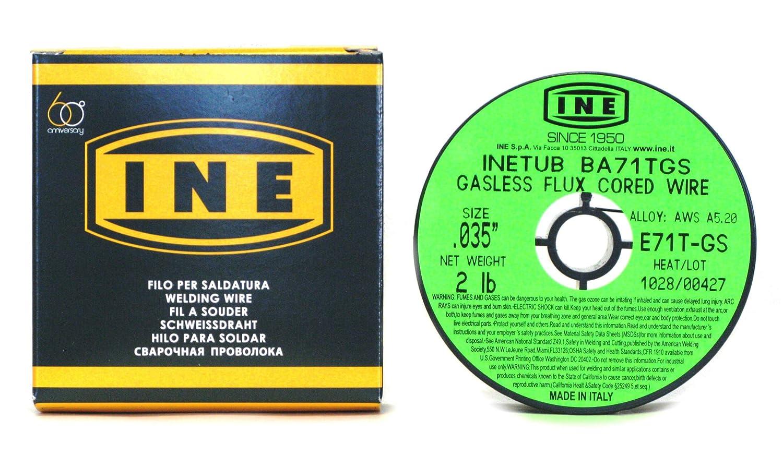 Proweltek-ine PR1038 - Bobina con núcleo sin gas/soldadura mig-mag 0,9 mm 900 g: Amazon.es: Industria, empresas y ciencia