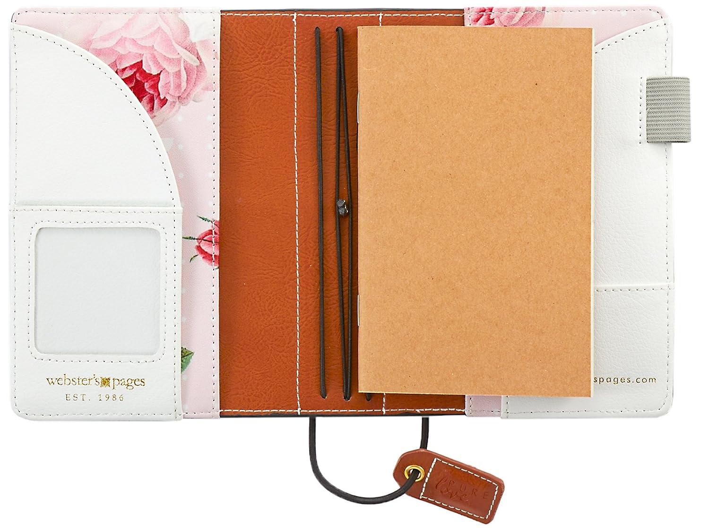 tn001-gsu Webster s Seiten Aspen gr/ün Wildleder Pocket Traveler Tagebuch