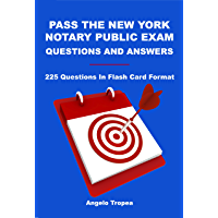 Pass the New York Notary Public Exam Questions and Answers
