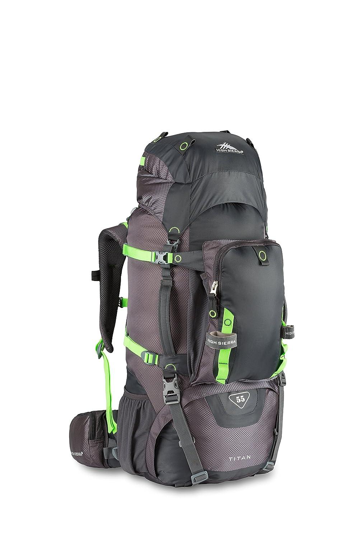 Amazon.com : High Sierra Titan 55 Frame Pack Amazon/Pine/Leaf ...