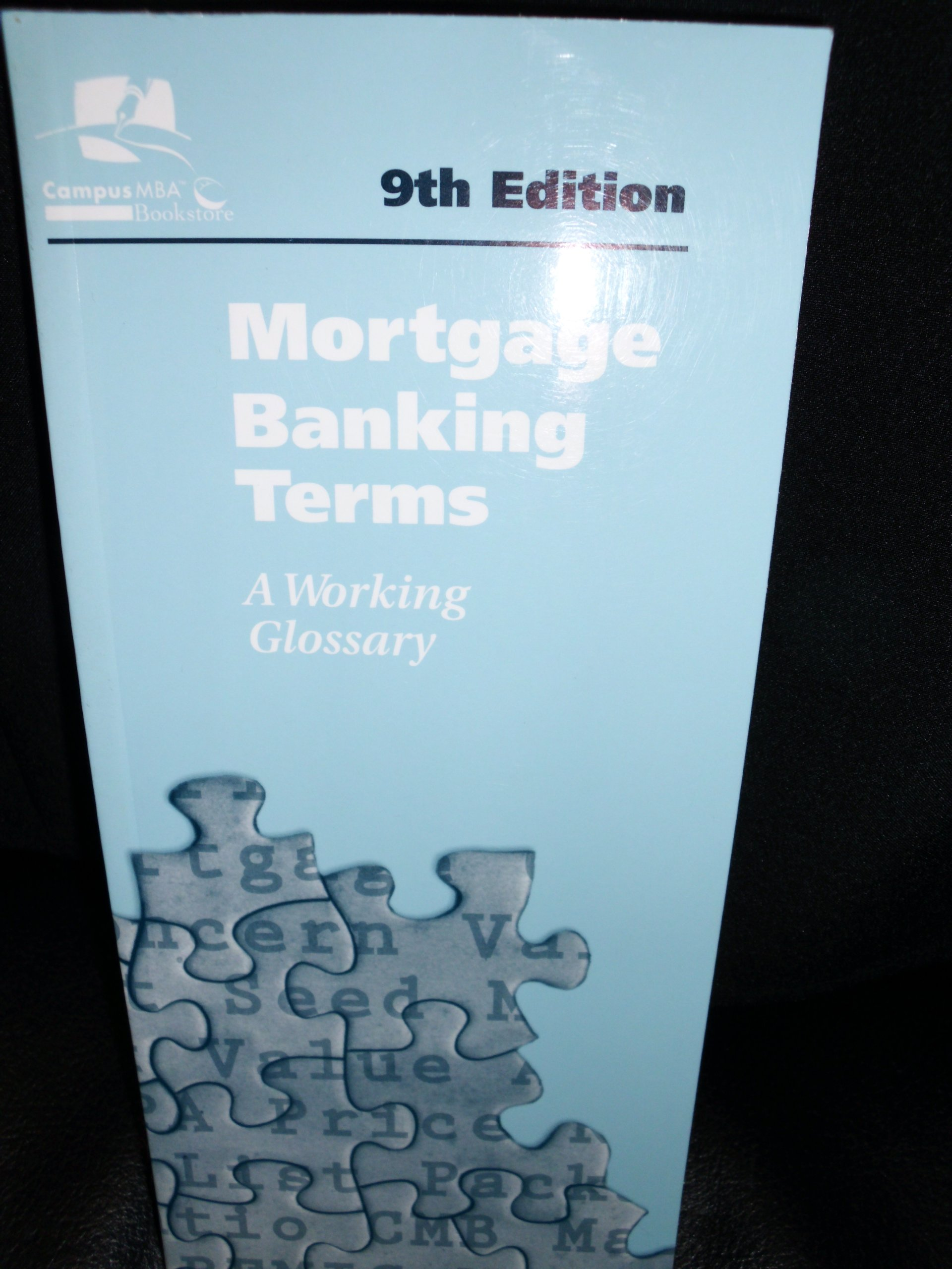 Download Mortgage Banking Terms: a Working Glossary PDF