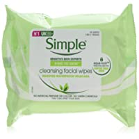 Simple Facial Cleansing Wipes - Pack of 6