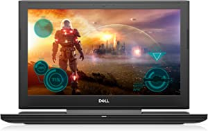"Dell i7577-7425BLK-PUS Inspiron UHD Display Gaming Laptop - 7th Gen Intel Core i7, GTX 1060 6GB Graphics, 16GB Memory, 128GB SSD + 1TB HDD, 15.6"", Matte Black"