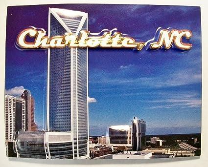 Charlotte NC Fridge Magnet