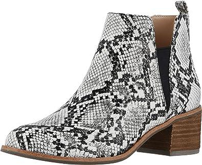 Amara Block Heel in Zebra Print Leather