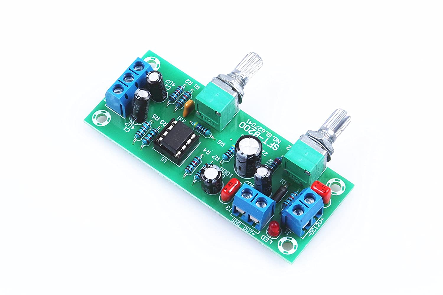 Knacro Dc 10v 24v Low Pass Filter Ne5532 Bass Tone 5532 Ic Mic Preamplifire Circuit Subwoofer Pre Amplifier Preamp Board Home Audio Theater
